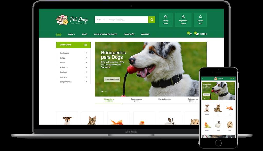 Pet Shop - Loja Virtual