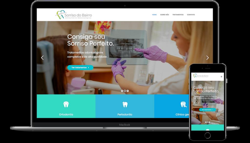 Dentista - Site Institucional